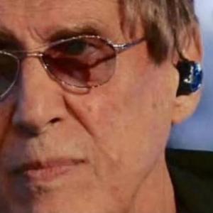 Adriano Celentano in ear monitor Lake Sound auricolari live